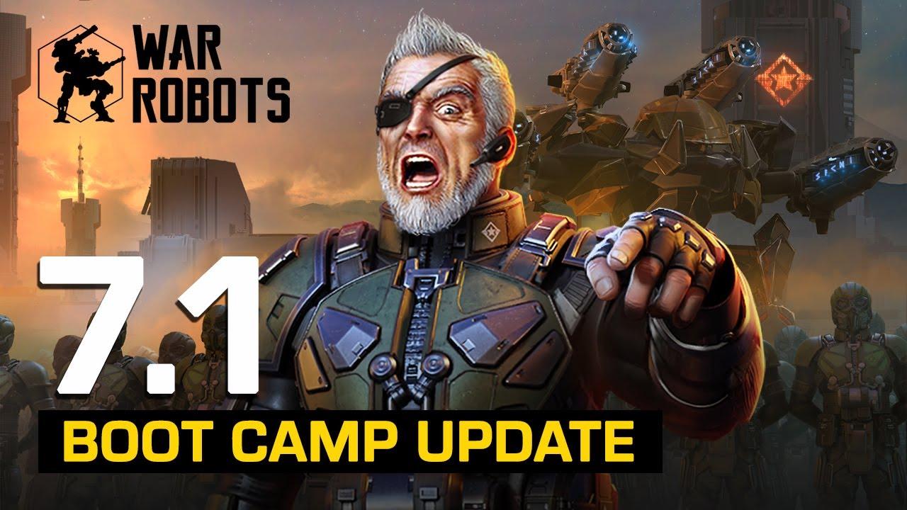 DSC Boot Camp 💂 War Robots Update 7.1 Overview