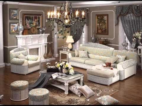 wicker furniture in living room | living room furniture romance