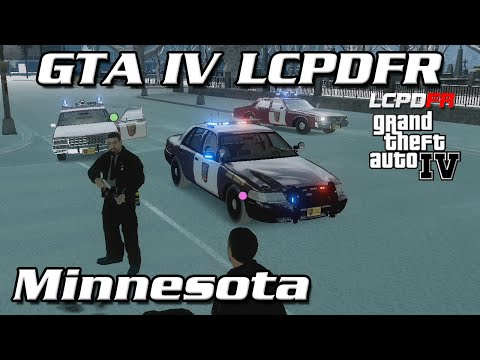 GTA IV LCPDFR MP - Minnesota State Police - Rookie Right Here