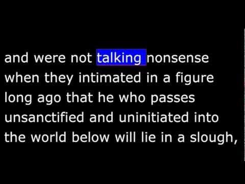 Phaedo by Plato - Part 2 of 8