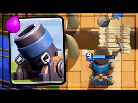Clash Royale - 2.9 MORTAR CYCLE! Dirty Deck