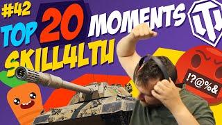 #42 skill4ltu vs Carro 45t TOP 20 Funny Moments   Best Twitch Clips   World of Tanks