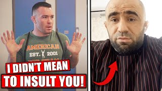 Khabib's family CONFRONTED Colby Covington, Dana White on Woodley vs Burns card, UFC weigh ins