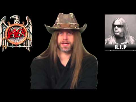 Jeff Hanneman of Slayer - Dead at age 49 - R.I.P.