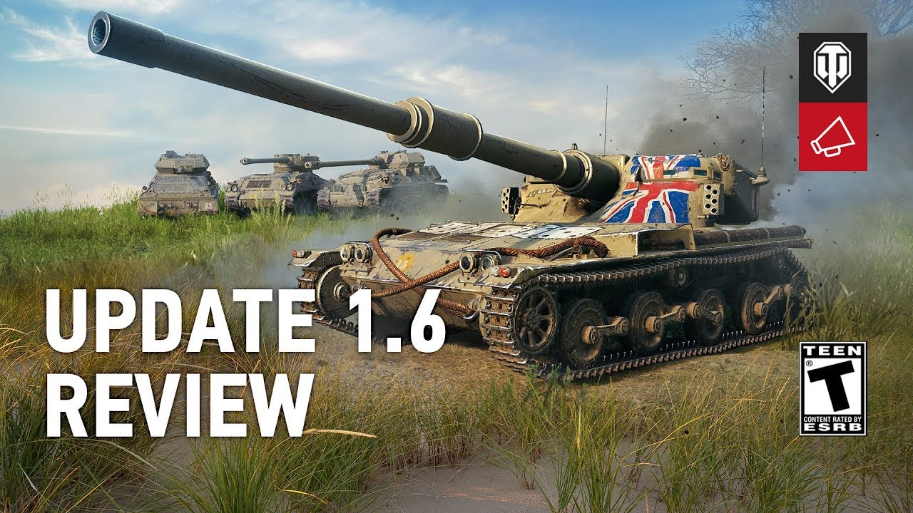 Update 1 6 Review | Tanks: World of Tanks media, best videos and artwork