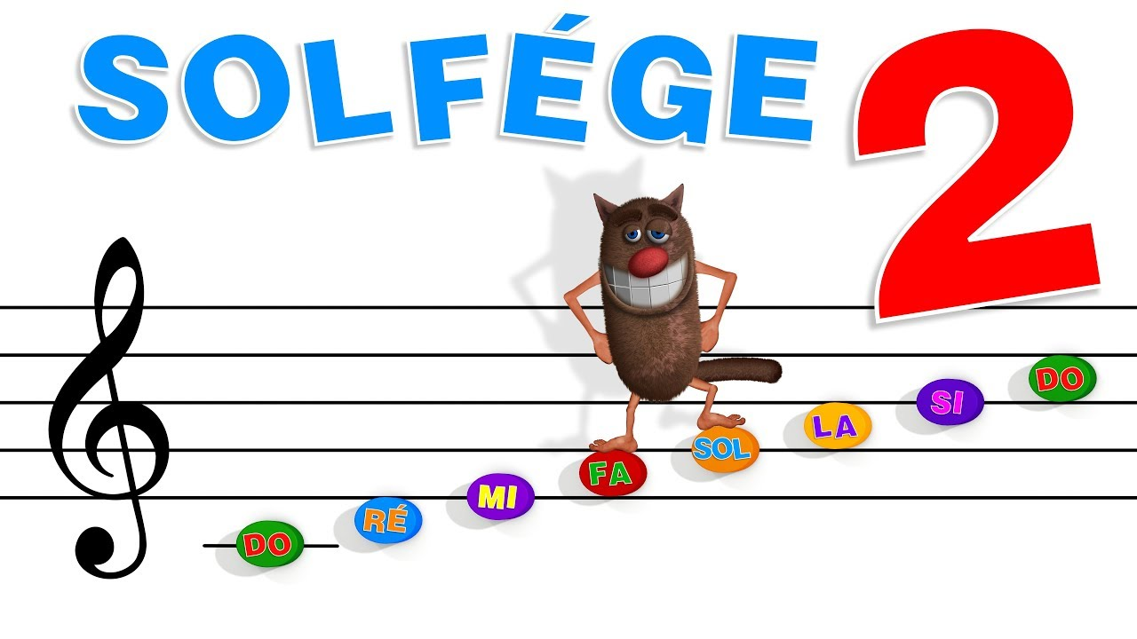 Foufou Le Solfège Pour Les Enfants Learn Music Theory For Kids