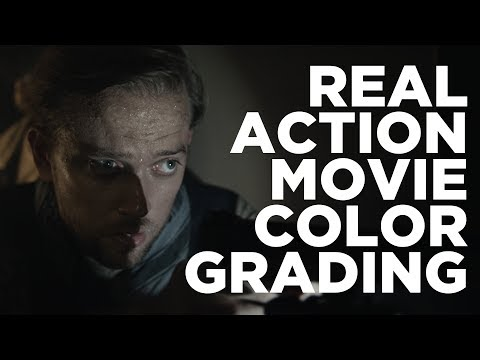 Real Action Movie Color Grading - Lets Play Davinci Resolve (Tutorial... kind of)