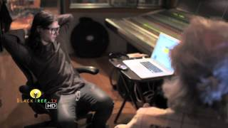 Skrillex in the studio creating music! (R.I.P Ray Manzarek)