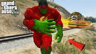 THE HULK FLASH - GTA 5 Mods