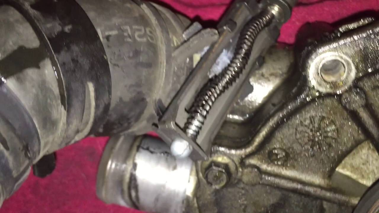 2001 mazda tribute v6 water pump replacement