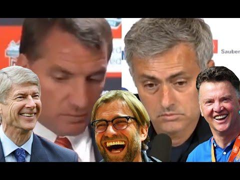 Jurgen Klopp, LVG And Wenger Troll Mourinho And Rodgers*