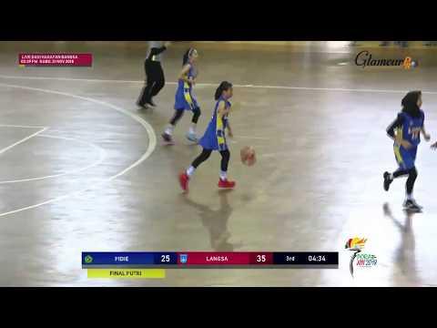 LIVE Final Bola Basket Putri PORA XIII PIDIE VS LANGSA