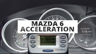 Mazda 6 Kombi 2.0 165 PS - acceleration 0-100 km/h
