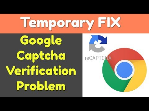 {Temporary} Fix for Google Search Captcha Verification Problem