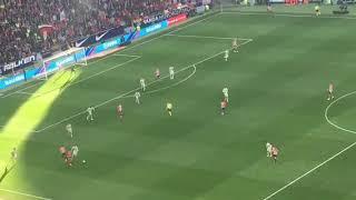 Atletico Madrid 2-0 Getafe.37' Minute goal of Saúl.