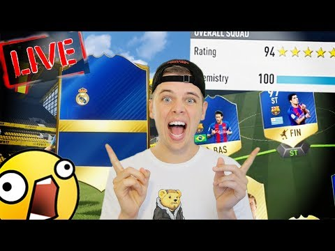 TOTS PACKS + 194 FUT DRAFT!! FIFA 17 LIVE