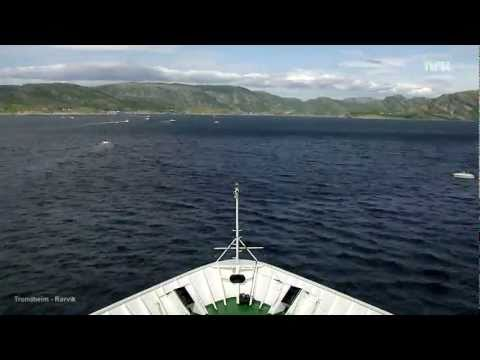 Hurtigruten Minutt for Minutt - the complete voyage in 37 minutes.