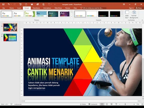 Cara Mudah Membuat Animasi Template PowerPoint yang Cantik dan Menarik