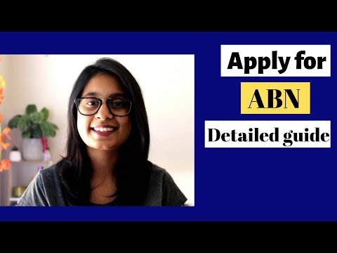 HOW TO APPLY FOR ABN NUMBER IN AUSTRALIA