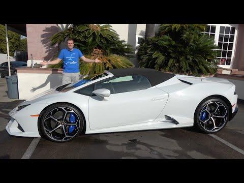 The 2020 Lamborghini Huracan Evo Is An Improved Huracan