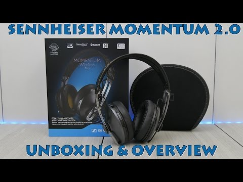 330f50152fd Sennheiser Momentum 2.0 Wireless Unboxing & Overview - My2Cents - YouTube