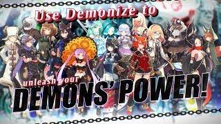 Demon Gaze II - Character Trailer (PS4, PS Vita)