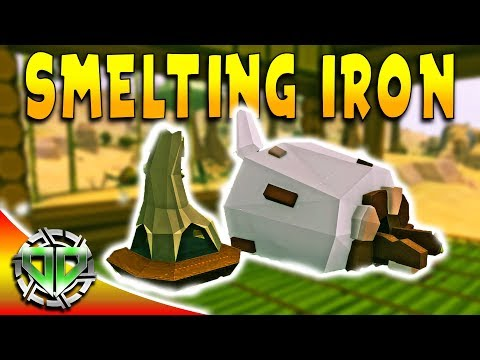 Smelting Iron & Building a Kiln : YLands Gameplay : PC Early Access