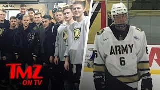 Justin Bieber Hits The Ice  At West Point | TMZ TV