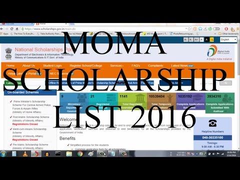 Merit Cum Means Scholarship list 2016|Post Matric Scholarship list 2016