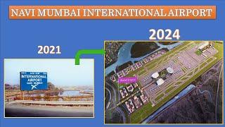 Navi Mumbai airport update   New airport in Mumbai   NMIA   CIDCO  Jewar Airport   Papa Construction