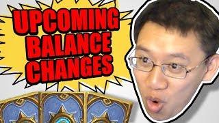 UPCOMING BALANCE CHANGES! RIP Druidstone? | Hearthstone | News
