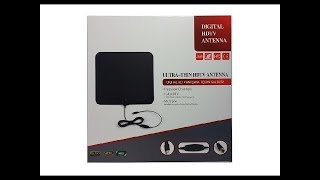 Must Have Amplified HD Digital TV Antenna Long 65 80 Miles Range With HDTV Amplifier Signal Booster