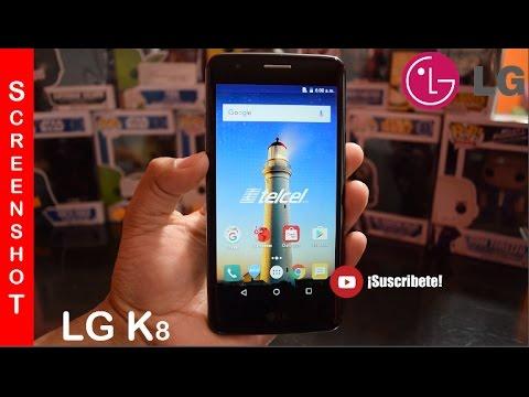 LG K8 Screenshot Captura de Pantalla