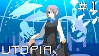 UTOPIA | Глава 1 | Мир,созданный разумом больной девочки(Я решил начать прохождение одной очень интересной игры на RPG Maker под названием UTOPIA,где наша главная героиня..., 2015-04-11T01:53:58.000Z)