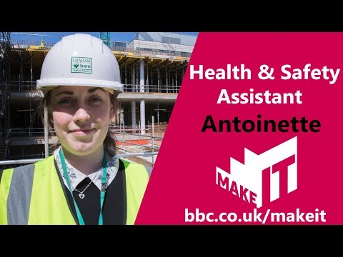 Health And Safety Assistant | Make It Into: Construction