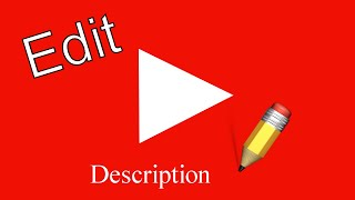 How to change y๐ur YouTube channel's description 2021 EDITION