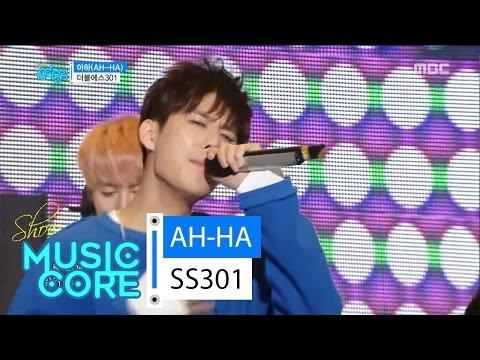 [Comeback Stage] SS301 - AH-HA, 더블에스301 - 아하 Show Music core 20160611