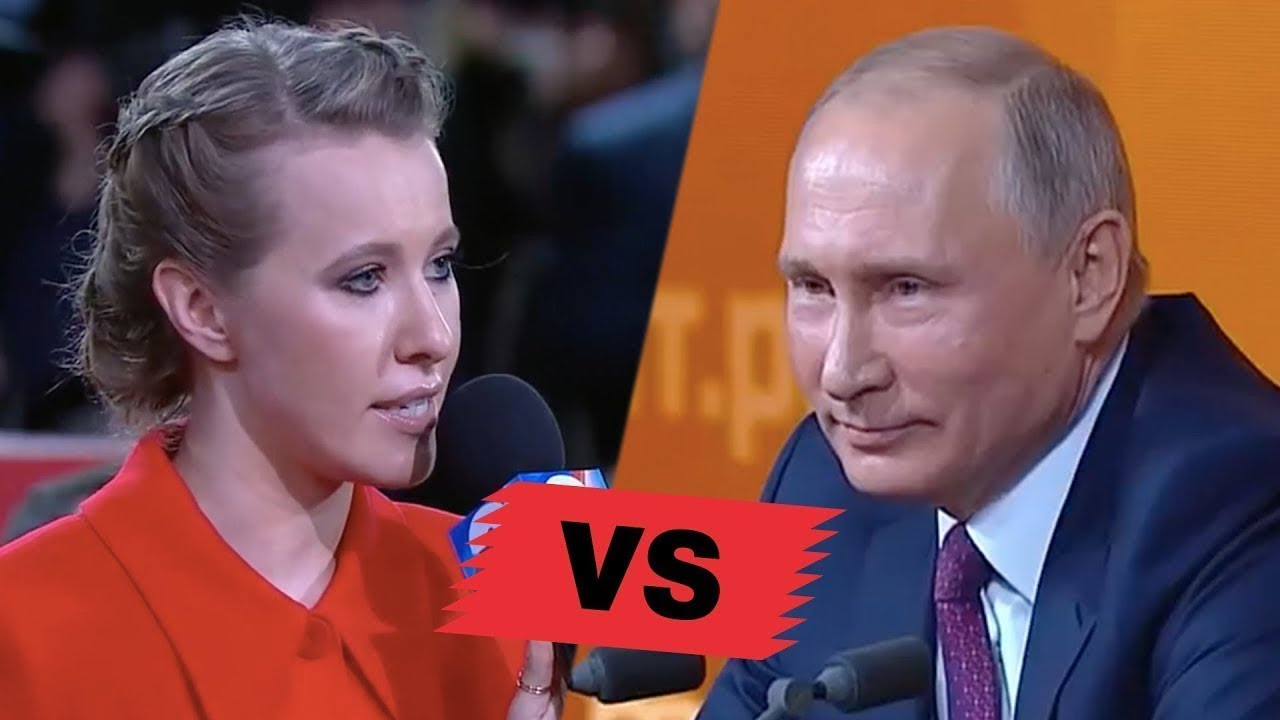 Putin Bashes 'Russian Paris Hilton' Ksenia Sobchak: We Don't Want That Russia Become Ukraine 2.0