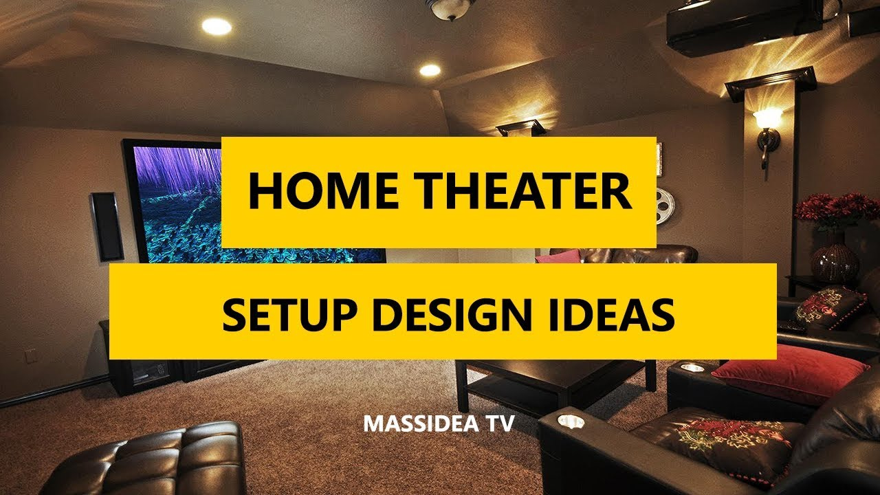 35+ Best Home Theater & Entertainment Setup Design Ideas 2018 - YouTube