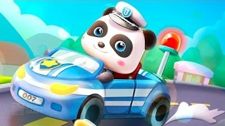 Little Panda Policeman - Play And Train The Observation Skills - Fun Educational Baby panda game