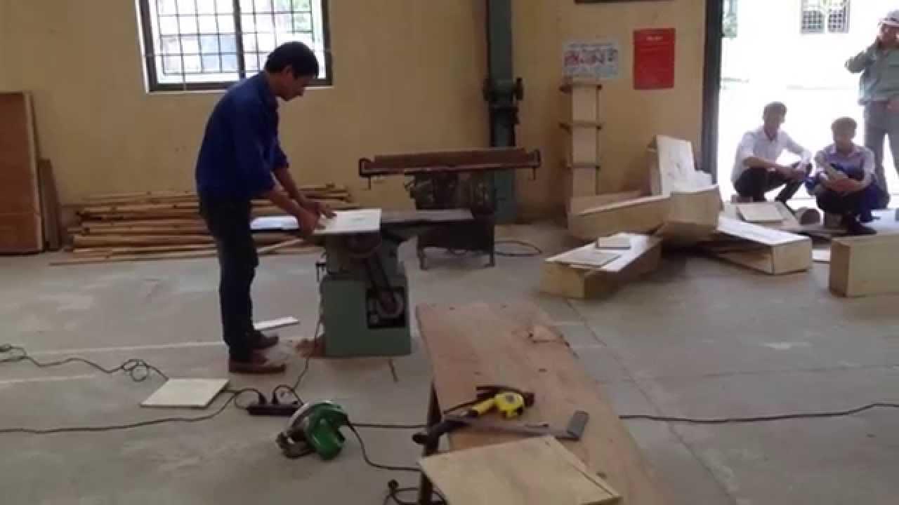Basic Trade test for Furniture Carpenter supplied by Vietnam Manpower