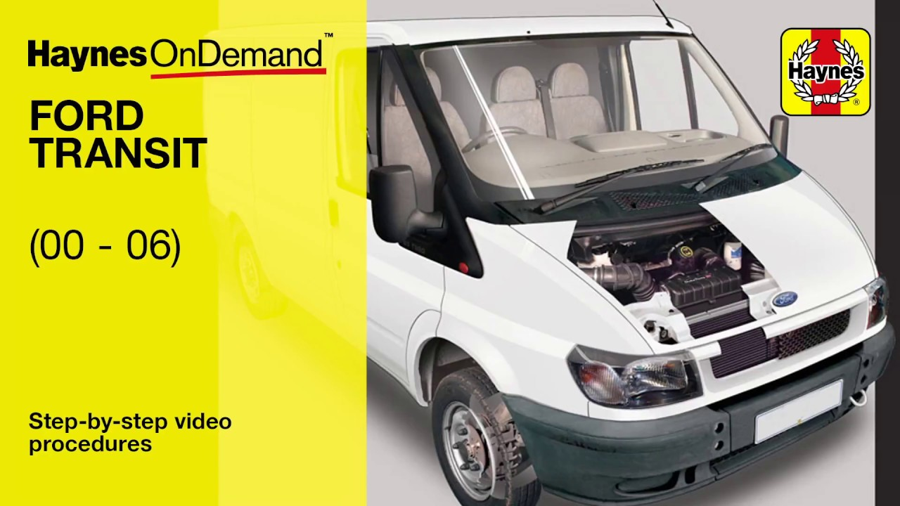 Genuine Haynes Owners Workshop Service Manual Ford Transit Diesel 00-06