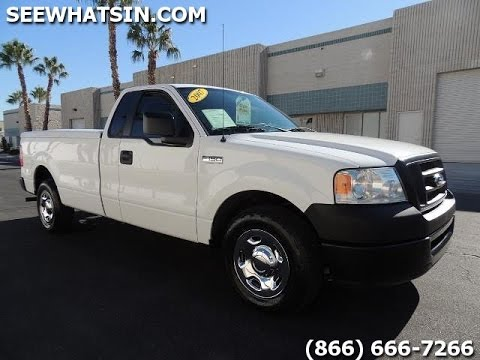 2007 Ford F150 Xl For Sale Long Bed W 36k Miles Tonneau Cover New Tires Stunning Stk D16263
