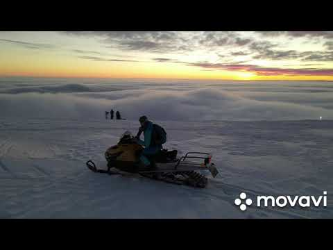 Ski Doo Tundra And Mavic Air 2 Active Track