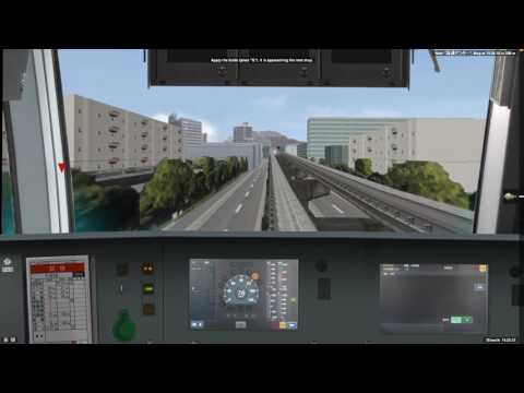 [BVE5] Tokyo Monorail Rapid Service (Hamamatsuchō to Haneda Airport Terminal 2)