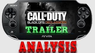 *ANALYSIS* Call Of Duty Black Ops Declassified PS VITA Trailer + Screenshots + Controls
