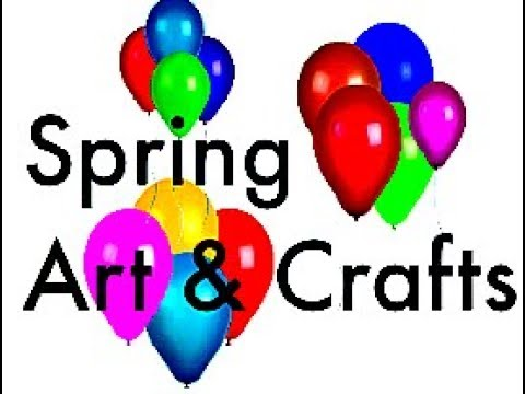spring art craft ideas and projects to choose from and do with kids
