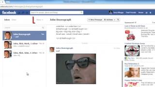 How to Search Facebook Message History