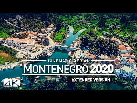 【4K】Drone Footage | The Beauty Of Montenegro In 18 Minutes 2019 | Cinematic Aerial Podgorica Balkans