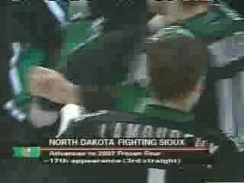 2007 Hockey West Regional Game Winner - Sioux Over Gophers